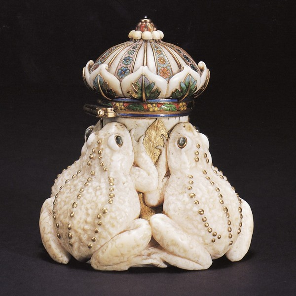 Frog Inkwell by Tiffany & CO