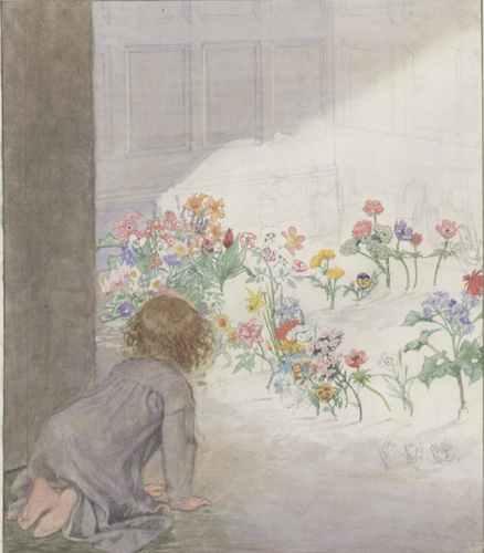 Little Girl in a Garden_Appleton