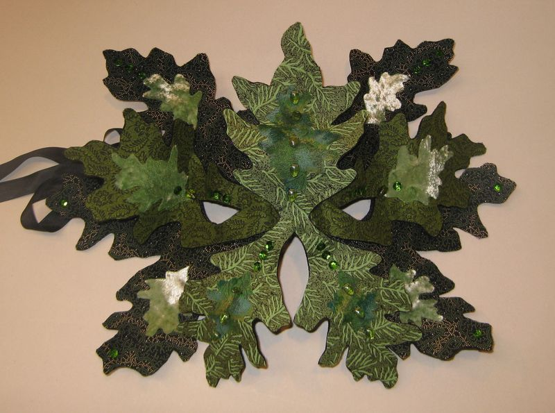 Greenman mask sample