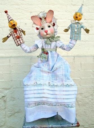 Bunnygirlshandpuppetshow